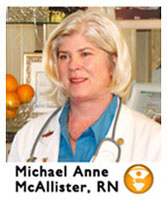 Ivc Founder, Michael Anne McAllister, RN